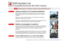 Tablet Preview of ggssouthern.co.uk